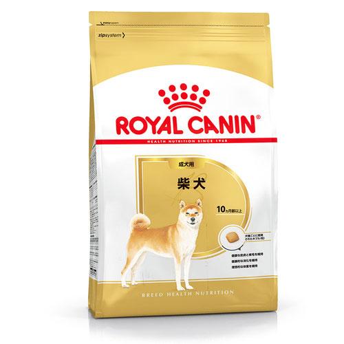 ロイヤルカナン ブリード ヘルス ニュートリション 柴犬 成犬・高齢犬用 8kg 製品画像