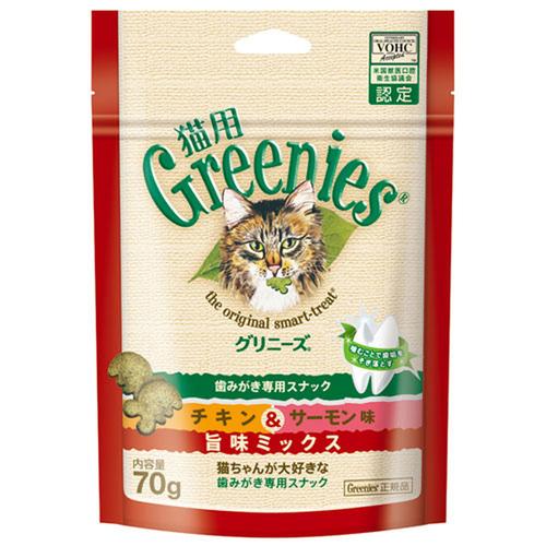 猫用 旨味ミックス チキン&サーモン味 70g