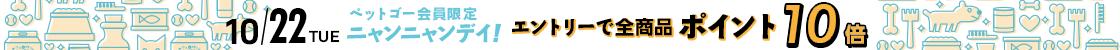HD【1910-04】22日ニャンニャンデー!24時間ポイント10倍