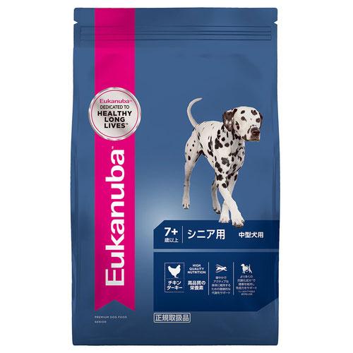 ユーカヌバ シニア用 中型犬用 7歳以上 7.5kg【在庫限り】
