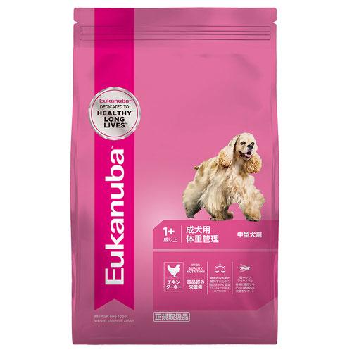 ユーカヌバ 成犬用 体重管理 中型犬用 1歳以上 6kg【在庫限り】