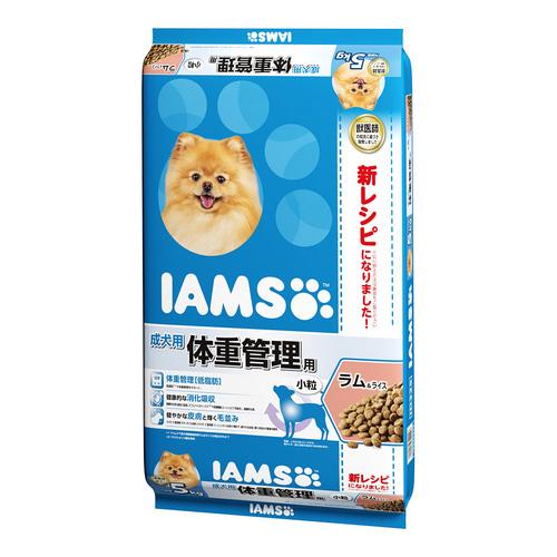 アイムス 成犬用 体重管理用 ラム&ライス 小粒 5kg
