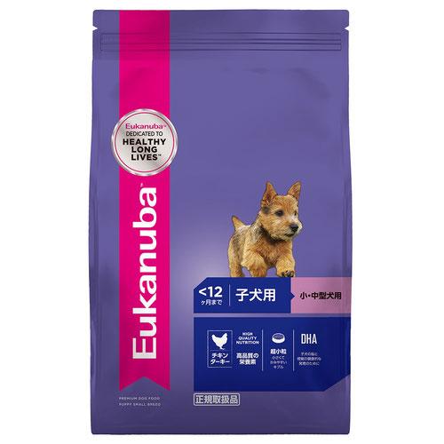 ユーカヌバ 子犬用 小・中型犬用 ~12ヶ月まで 2.7kg【在庫限り】