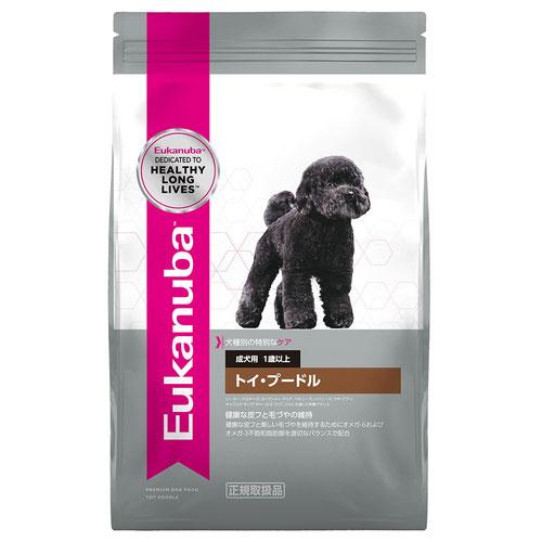 ユーカヌバ 犬種別サポート トイ・プードル 成犬用 1歳以上 2.7kg【在庫限り】