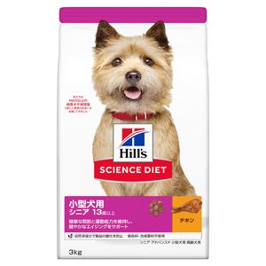 サイエンスダイエット シニアアドバンスド 小型犬用 高齢犬用 13歳以上 3kg