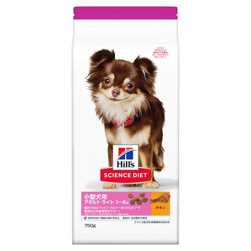 サイエンスダイエット ライト 小型犬用 肥満傾向の成犬用 750g