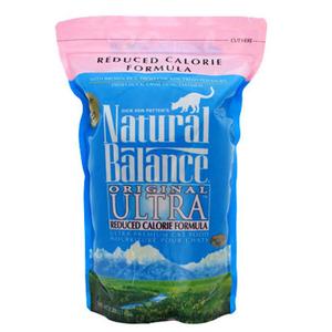 ナチュラルバランス キャットフード リデュースカロリー 6.3ポンド(2.85kg)