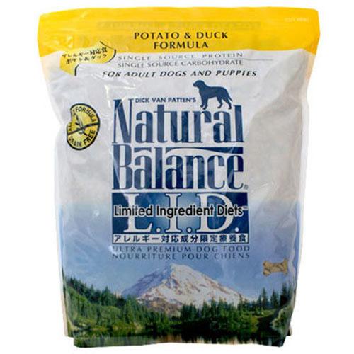ナチュラルバランス ドッグフード ポテト&ダック 12ポンド(5.45kg)