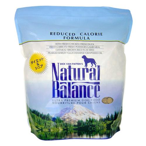 ナチュラルバランス ドッグフード リデュースカロリー 5ポンド(2.27kg)【在庫限り】