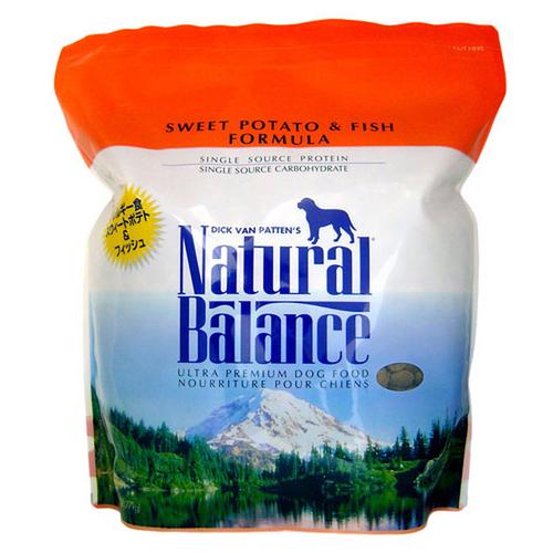 ナチュラルバランス ドッグフード スウィートポテト&フィッシュ 5ポンド (2.27kg)