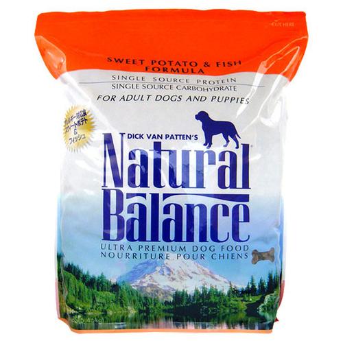 ナチュラルバランス ドッグフード スウィートポテト&フィッシュ 12ポンド(5.45kg)