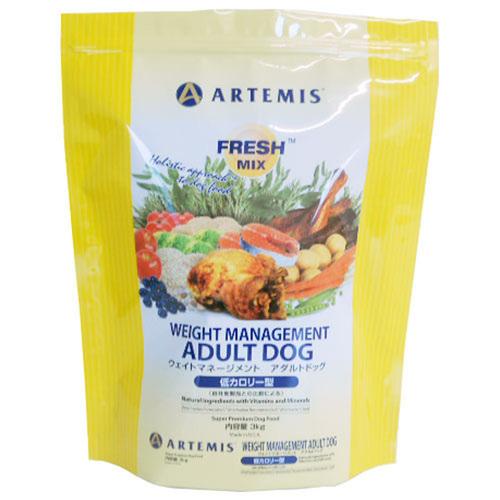 ARTEMIS アーテミス フレッシュミックス ウェイトマネージメントアダルトドッグ 3kg