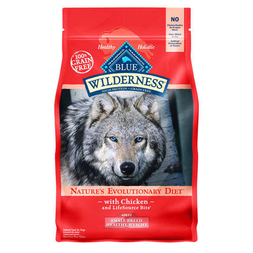 BLUE(ブルー) ウィルダネス 成犬用・(超)小型犬体重管理用チキン 2.04kg (正規輸入品)【在庫限り】