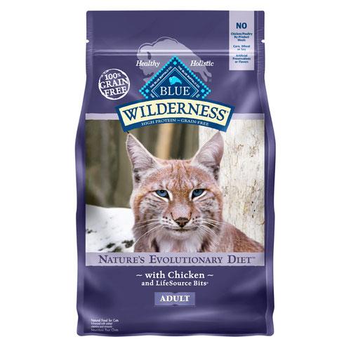 BLUE(ブルー) ウィルダネス 成猫用チキン 1.13kg (正規輸入品)【在庫限り】