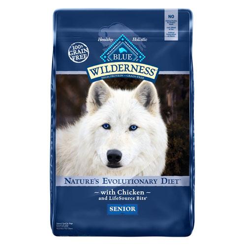 BLUE(ブルー) ウィルダネス 高齢犬用チキン 4.99kg (正規輸入品)【在庫限り】
