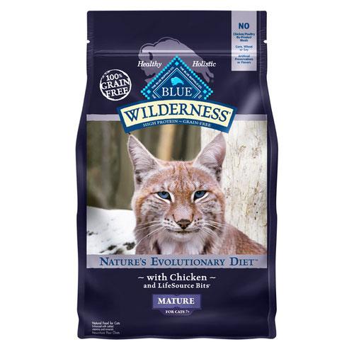 BLUE(ブルー) ウィルダネス シニア猫用チキン 2.27kg (正規輸入品)【在庫限り】