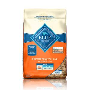 BLUE(ブルー) ライフプロテクション・フォーミュラ 成犬用 大型犬種用 チキン&玄米 6kg【在庫限り】