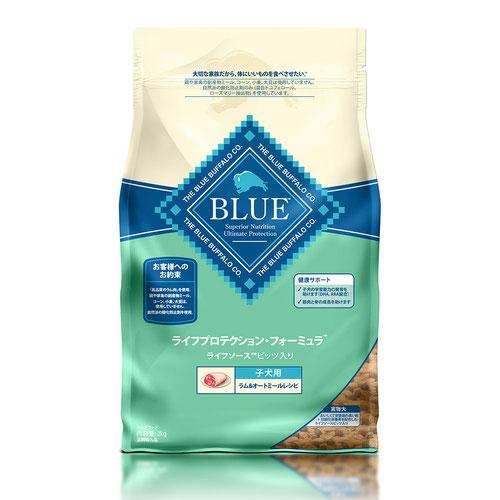 BLUE(ブルー) ライフプロテクション・フォーミュラ 子犬用 ラム&オートミール 2kg【在庫限り】
