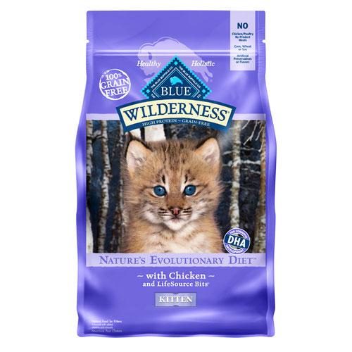 BLUE(ブルー) ウィルダネス 子猫用チキン 2.27kg (正規輸入品)【在庫限り】