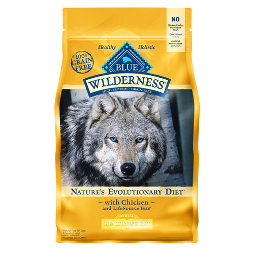 BLUE(ブルー) ウィルダネス 成犬用・体重管理用チキン 2.04kg (正規輸入品)【在庫限り】