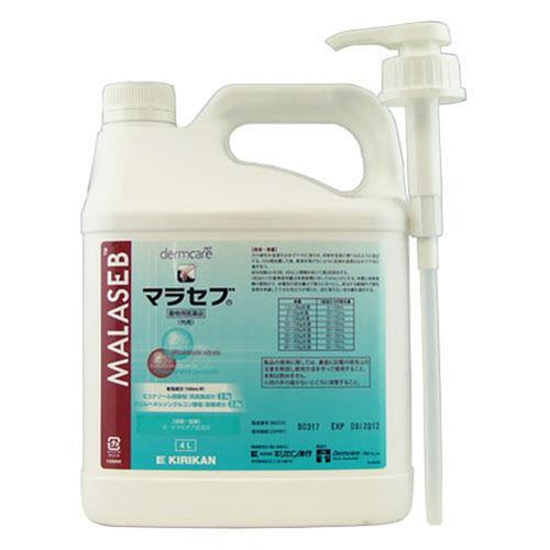 マラセブ シャンプー 犬用 4L(動物用医薬品)