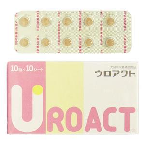 ウロアクト 犬猫用 10粒×10シート