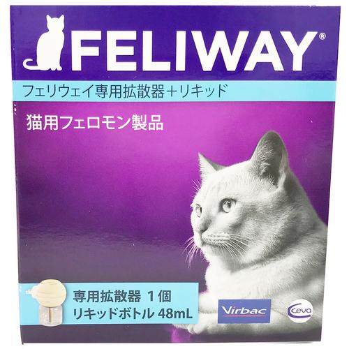 ビルバック フェリウェイ 猫用 専用拡散器1個+リキッド48mL