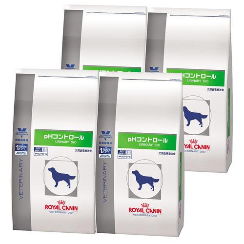 ロイヤルカナン 食事療法食 犬用 pHコントロール ドライ 3kg×4袋【ケース販売】