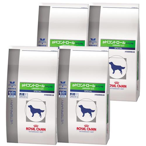 ロイヤルカナン 食事療法食 犬用 pHコントロール スペシャル ドライ 3kg×4袋【ケース販売】
