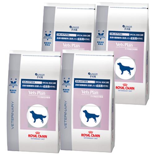 ロイヤルカナン ベッツプラン 犬用 スキンケアプラス ジュニア 3kg×4袋【ケース販売】
