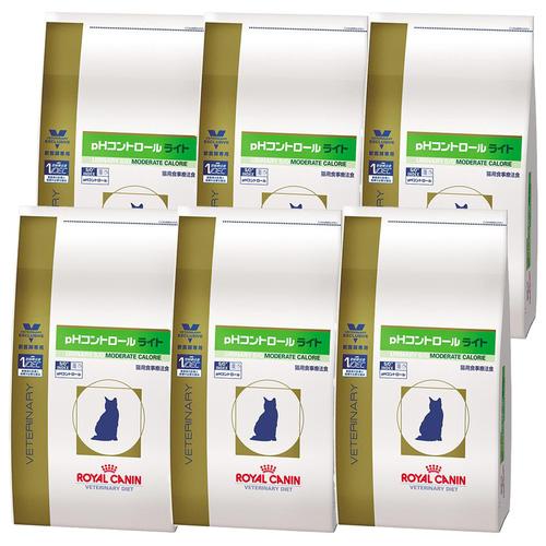 ロイヤルカナン 食事療法食 猫用 pHコントロールライト ドライ 2kg×6袋【ケース販売】