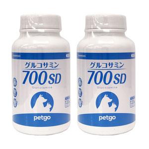 【2個セット】グルコサミン700SD ビーフフレーバー 120粒(小粒)
