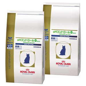 【2袋セット】ロイヤルカナン 食事療法食 猫用 pHコントロール0(ゼロ) ドライ 2kg