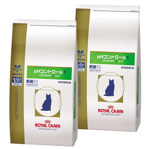 【2袋セット】ロイヤルカナン 食事療法食 猫用 pHコントロール1 ドライ 4kg