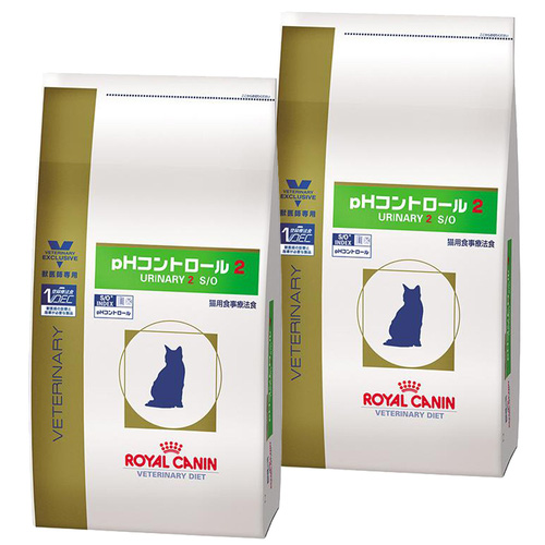 【2袋セット】ロイヤルカナン 食事療法食 猫用 pHコントロール2 ドライ 4kg