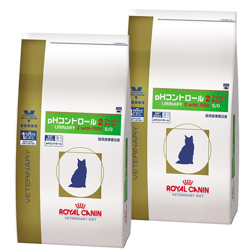【2袋セット】ロイヤルカナン 食事療法食 猫用 pHコントロール2 フィッシュテイスト ドライ 2kg