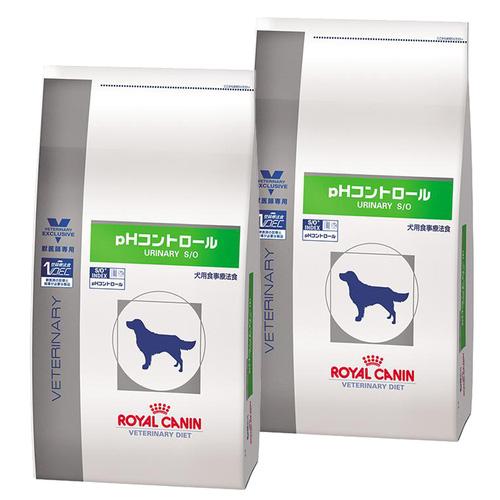 【2袋セット】ロイヤルカナン 食事療法食 犬用 pHコントロール ドライ 8kg