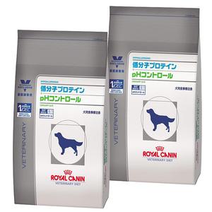 【2袋セット】ロイヤルカナン 食事療法食 犬用 低分子プロテイン+pHコントロール ドライ 3kg