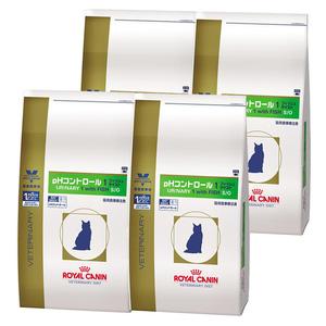ロイヤルカナン 食事療法食 猫用 pHコントロール1 フィッシュテイスト ドライ 4kg×4袋【ケース販売】