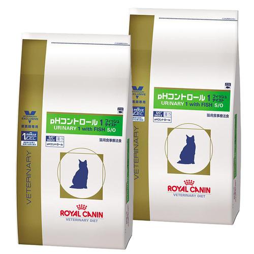 【2袋セット】ロイヤルカナン 食事療法食 猫用 pHコントロール1 フィッシュテイスト ドライ 4kg