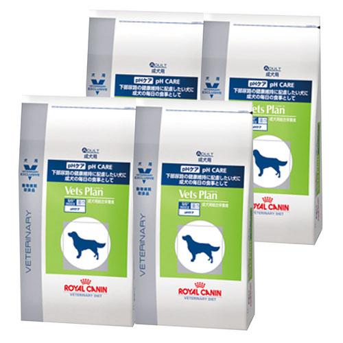 【4袋セット】ロイヤルカナン ベッツプラン 犬用 pHケア 1kg