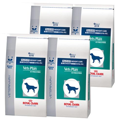【4袋セット】ロイヤルカナン ベッツプラン 犬用 ウェイトケア 1kg
