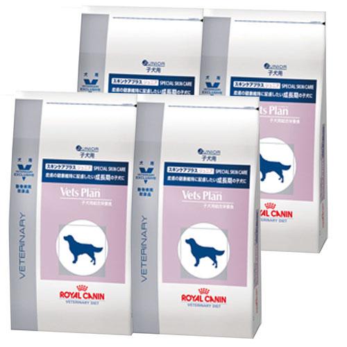 【4袋セット】ロイヤルカナン ベッツプラン 犬用 スキンケアプラス ジュニア 1kg