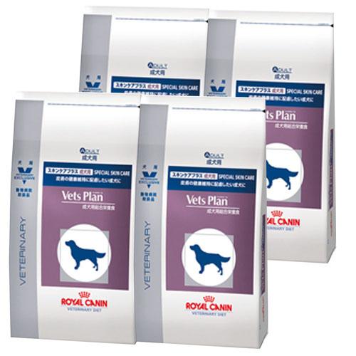 【4袋セット】ロイヤルカナン ベッツプラン 犬用 スキンケアプラス 成犬用 1kg