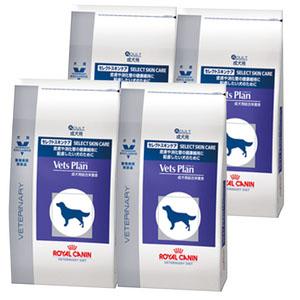 【4袋セット】ロイヤルカナン ベッツプラン 犬用 セレクトスキンケア 1kg