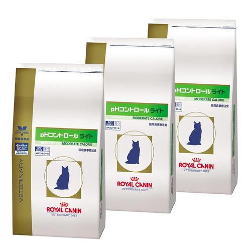 【3袋セット】ロイヤルカナン 食事療法食 猫用 pHコントロールライト ドライ 4kg