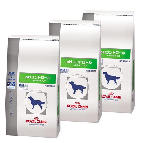 【3袋セット】ロイヤルカナン 食事療法食 犬用 pHコントロール ドライ 3kg