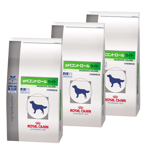 【3袋セット】ロイヤルカナン 食事療法食 犬用 pHコントロール ライト 8kg