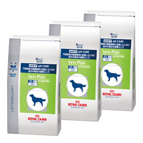 【3袋セット】ロイヤルカナン ベッツプラン 犬用 pHケア 8kg
