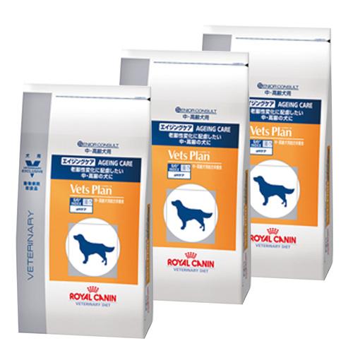 【3袋セット】ロイヤルカナン ベッツプラン 犬用 エイジングケア 8kg